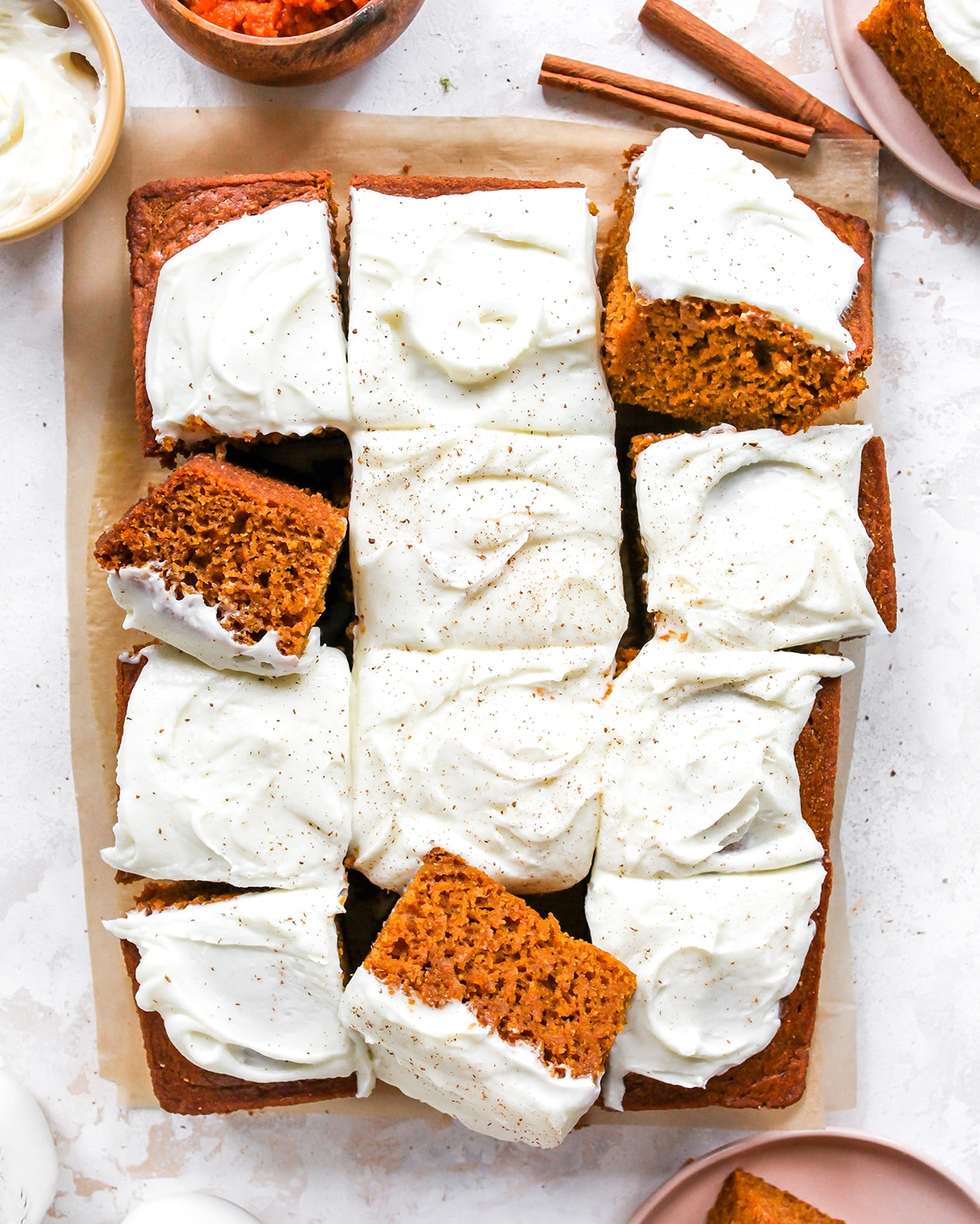Best Pumpkin Cake with Cream Cheese Frosting