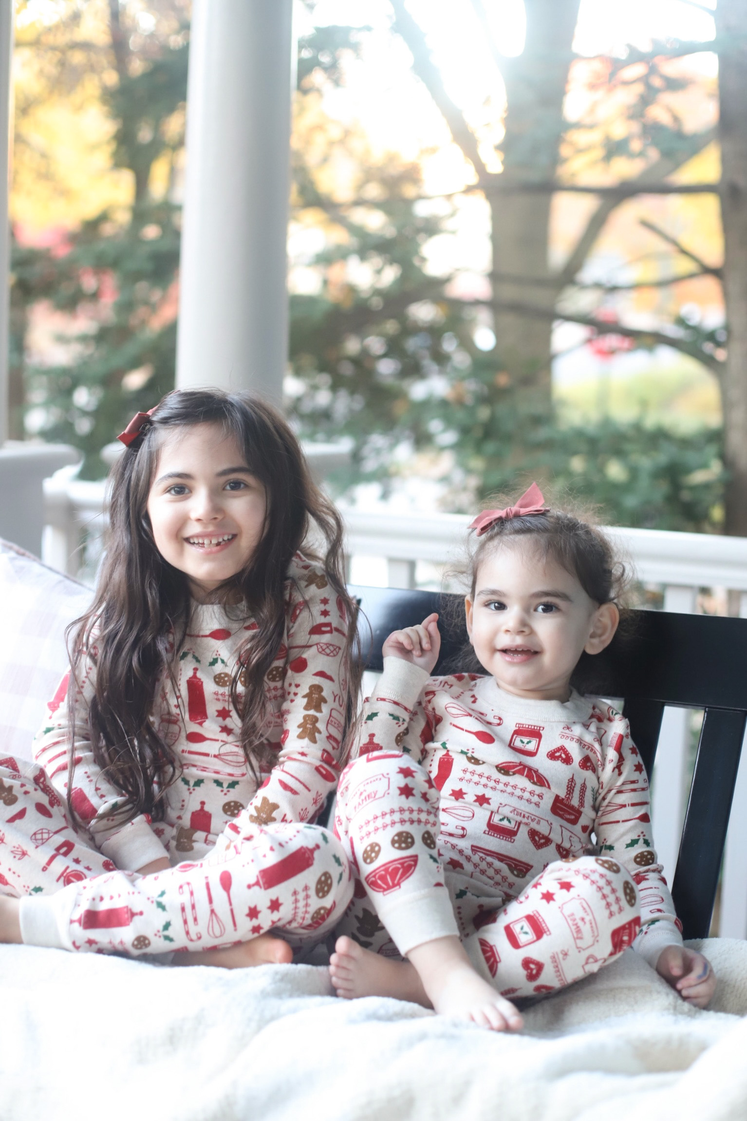 festive holiday pajamas for the entire family