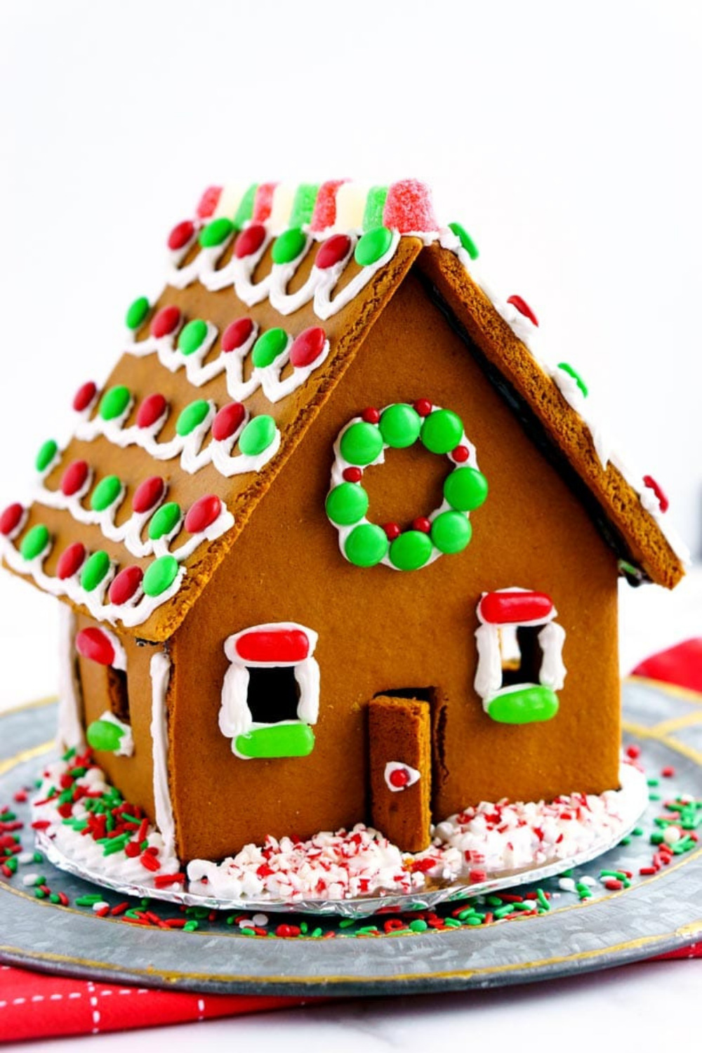 Homemade Gingerbread House DIY + Recipe