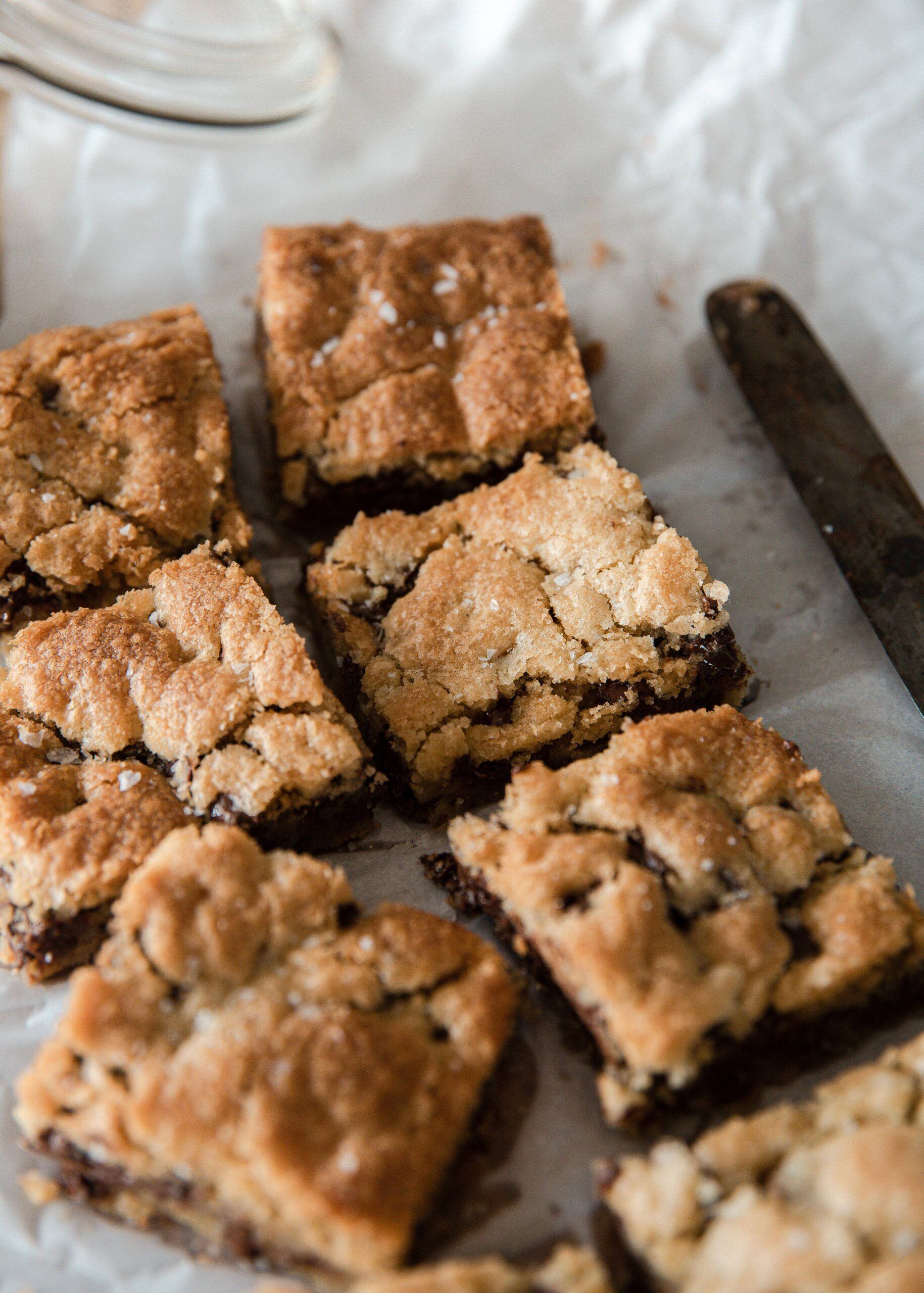 40+ Amazing Cookie Bars Recipes | Chewy Chocolate Chip Cookie Bars Recipe