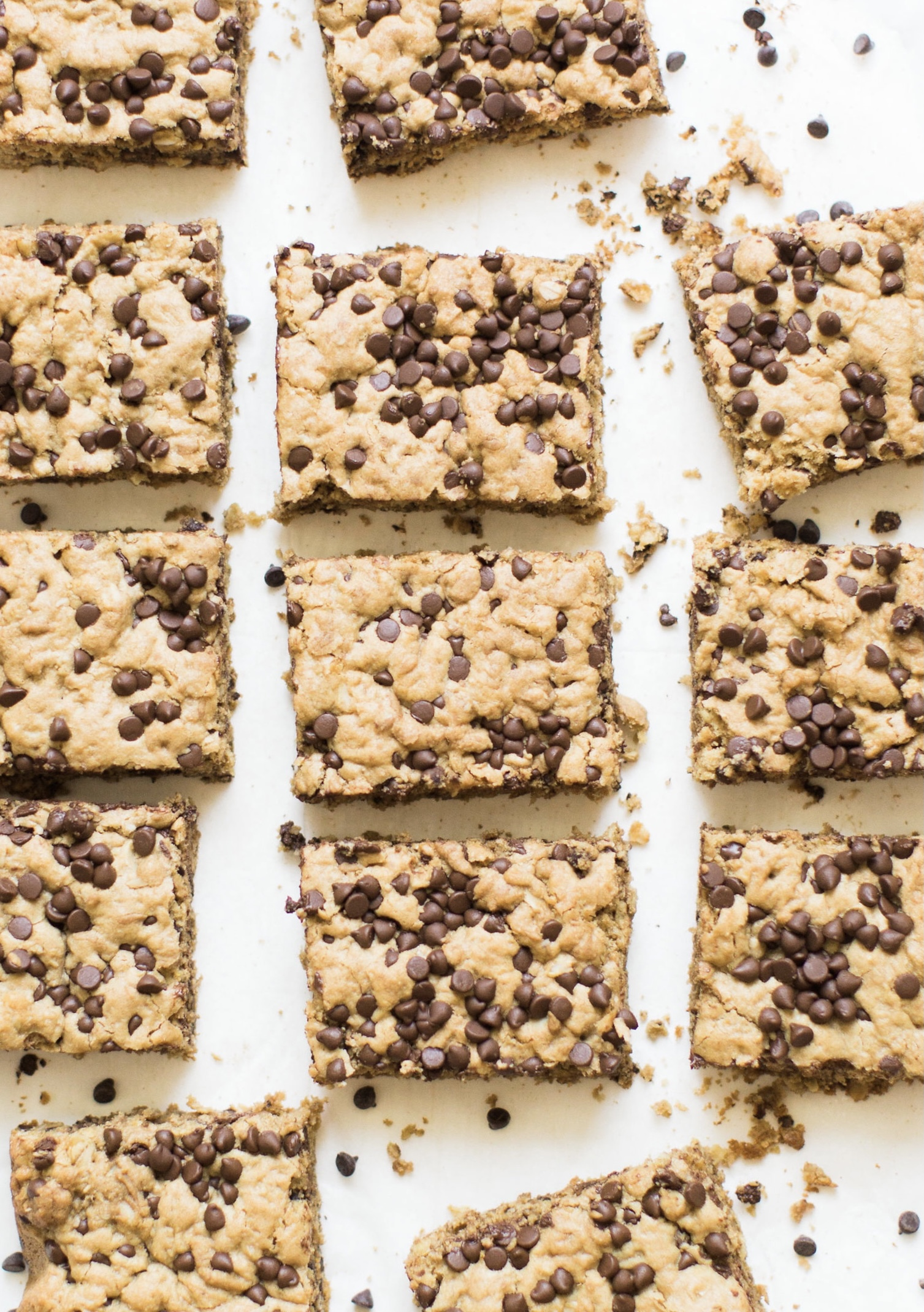 40+ Amazing Cookie Bars Recipes | Chocolate Chip Oatmeal Cookie Bars