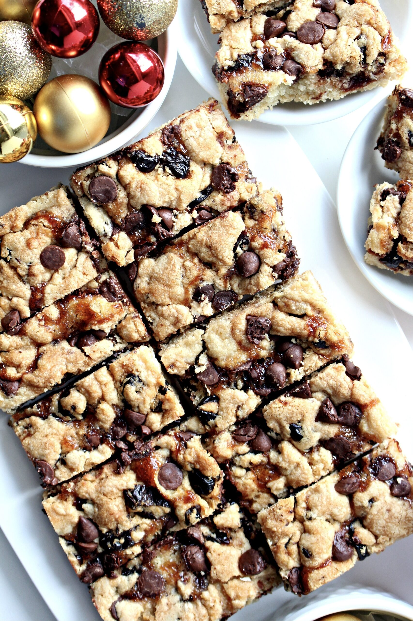 40+ Amazing Cookie Bars Recipes | Chocolate Covered Cherry Bars