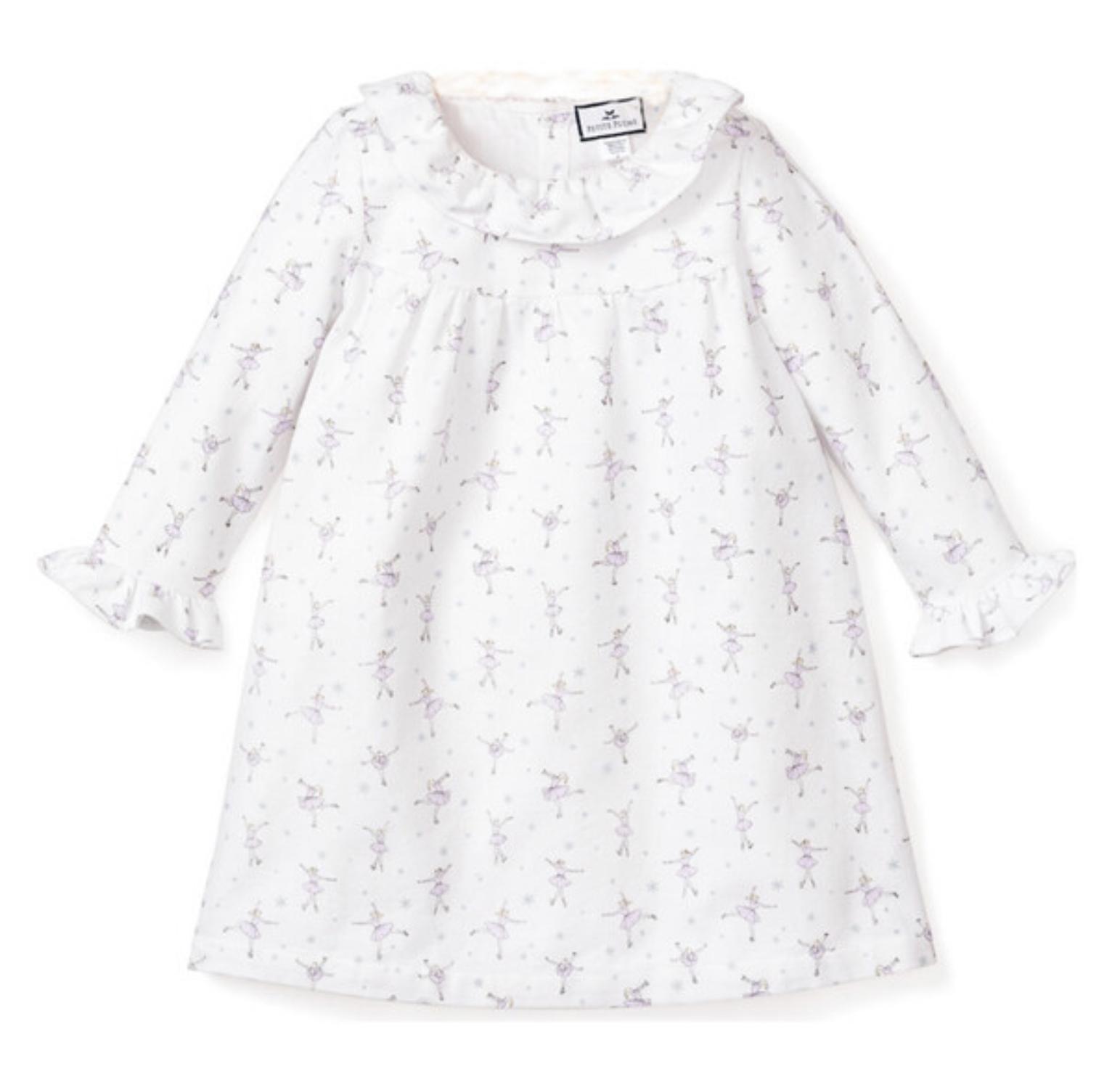 Petite Plume Scarlett Nightgown, Ice Dancer