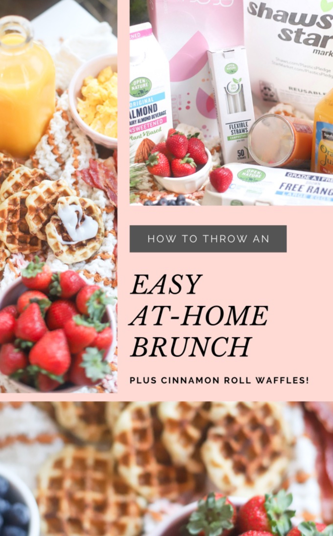 AD: How to throw the easiest at-home family brunch this holiday season; perfect for celebrating with a simple and delicious breakfast the morning after Thanksgiving, Christmas morning, or the morning after New Years Eve! (Complete with award-winning items from #StarMarket !)