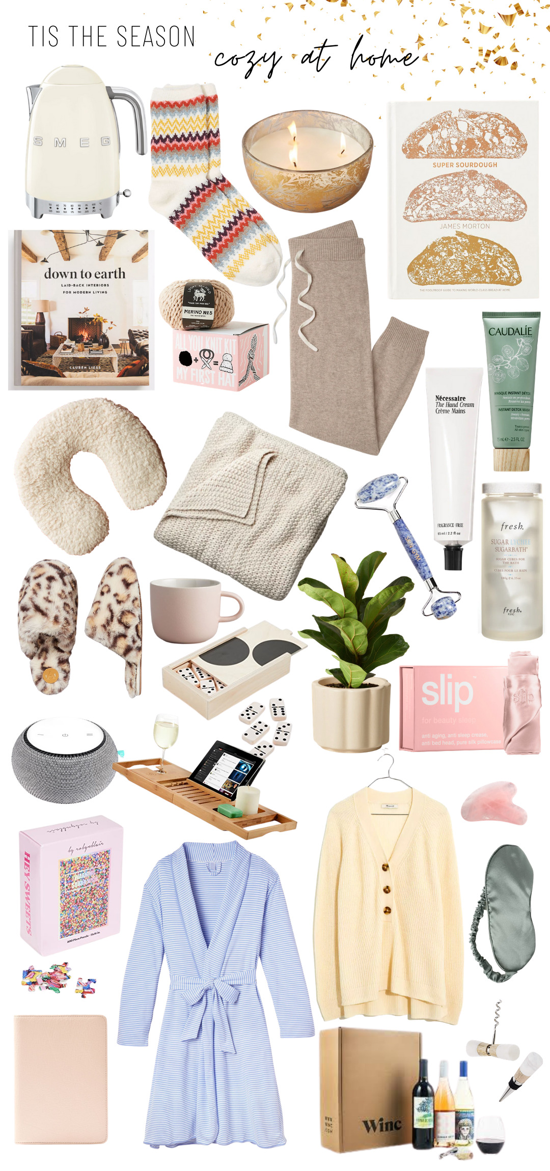 Holiday Gift Guide - Cozy at Home