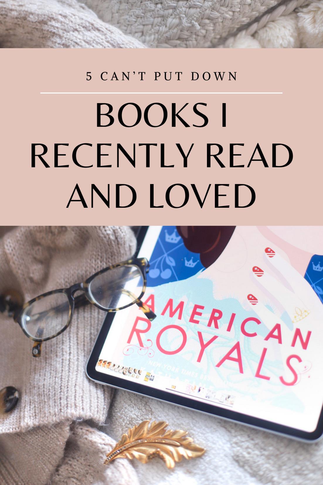 Book Recommendations | @glitterinclexi | GLITTERINC.COM