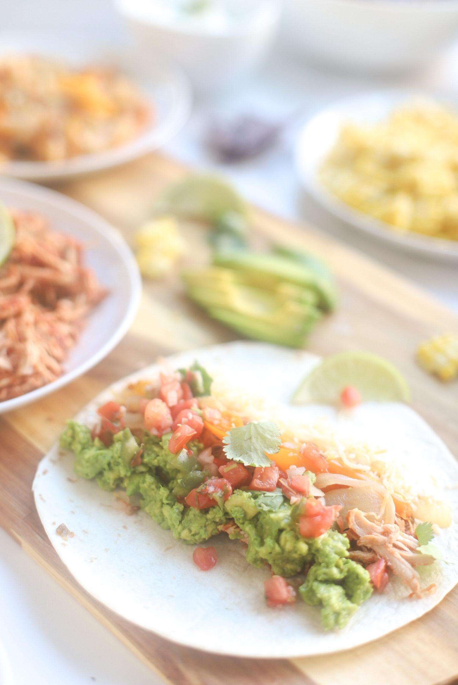 Crockpot Chicken Tacos (Also Known As Salsa Chicken)