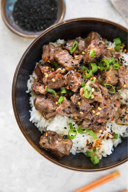 65 Easy Instant Pot + Crockpot Dinner Recipes | Korean Beef Bulgogi