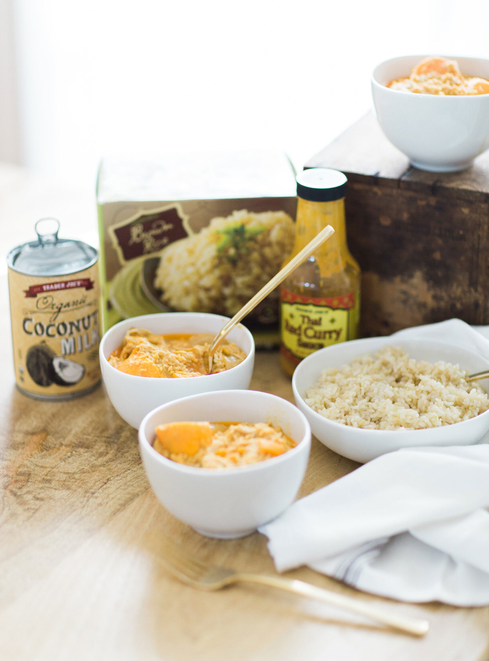3-Ingredient Trader Joe's Thai Coconut Curry Chicken
