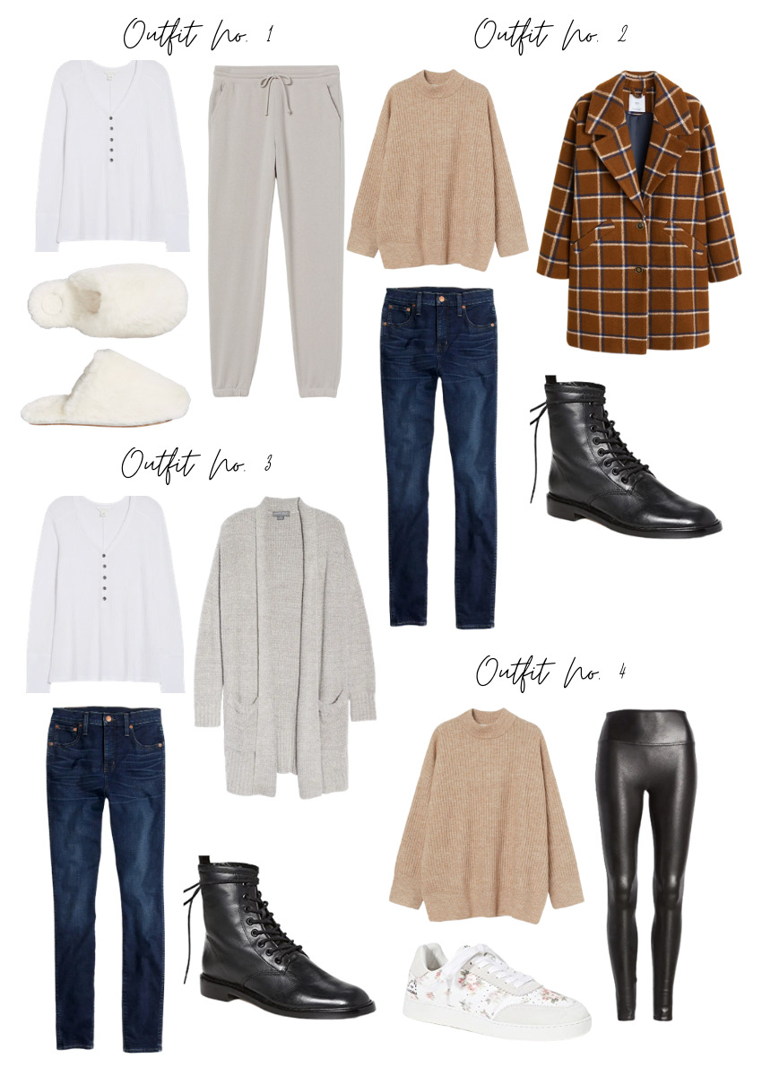 winter capsule wardrobe outfit ideas