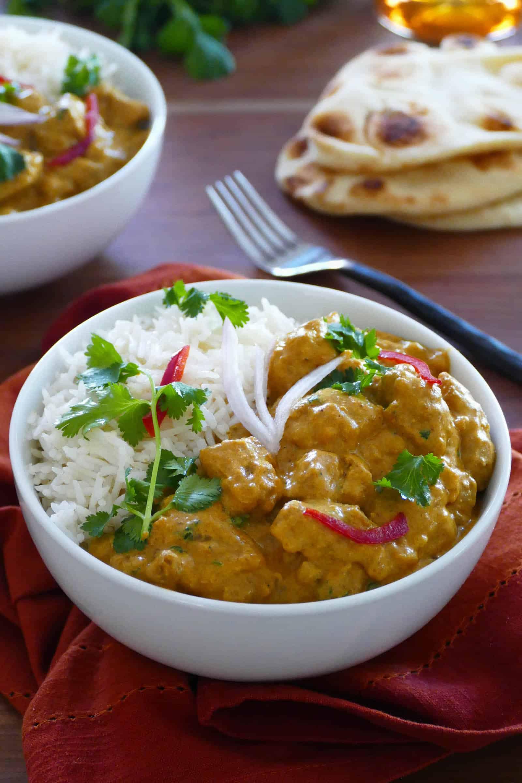 65 Easy Instant Pot + Crockpot Dinner Recipes | Instant Pot Chicken Korma