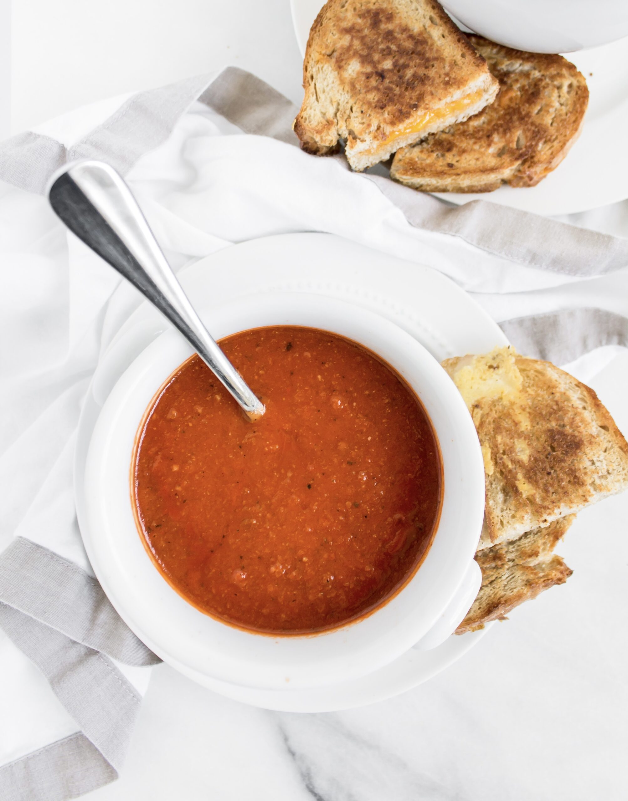 Healthier Classic Protein-Packed Tomato Soup