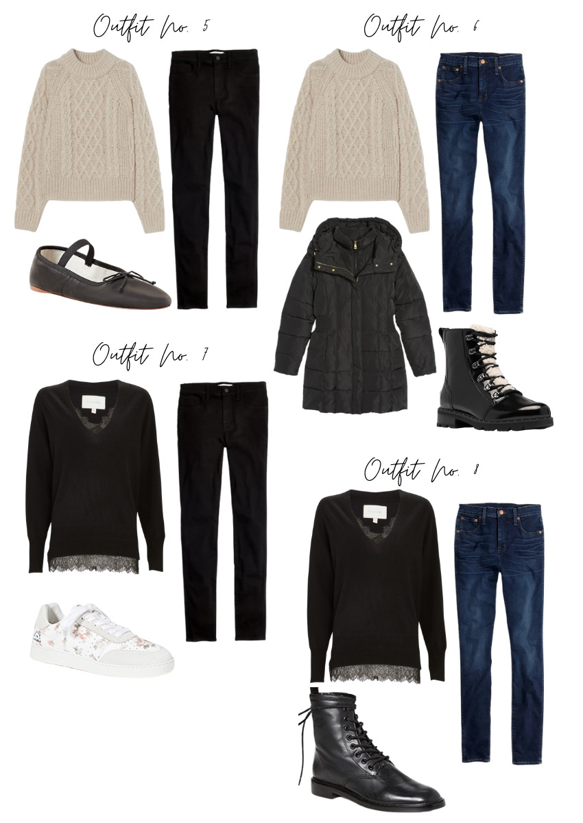 winter outfit combinations