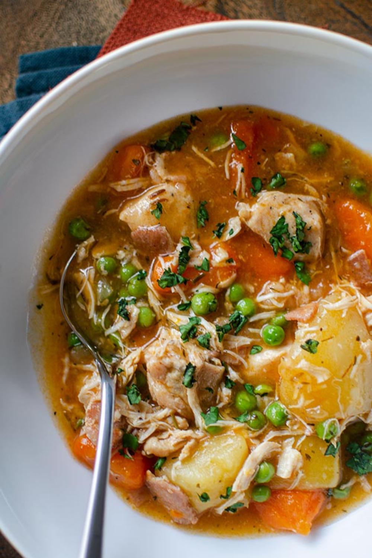 Pressure cooker chicken stew