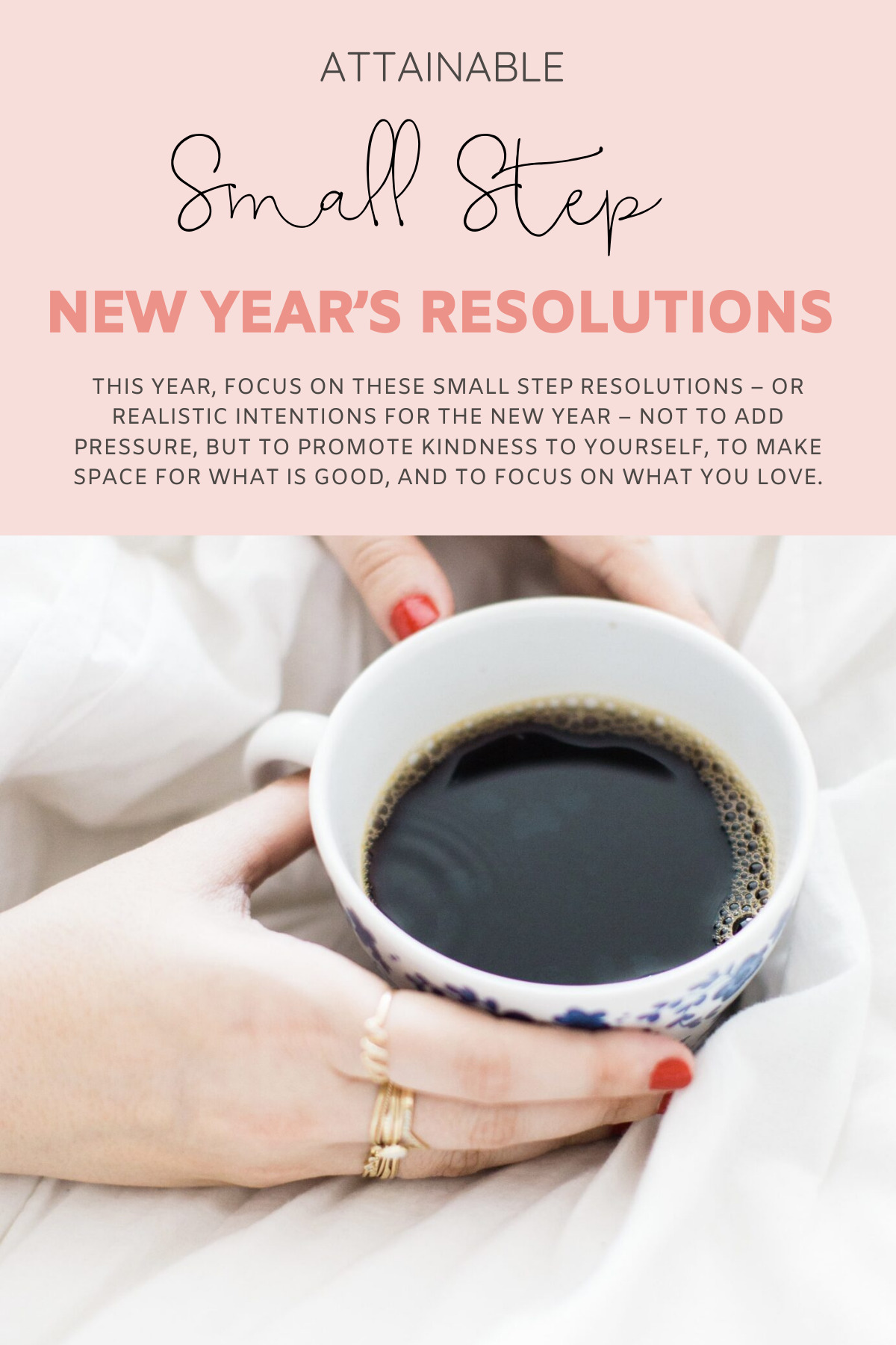 Slow Start New Years Resolutions - Attainable Small Step Intentions for the New Year | @glitterinclexi | GLITTERINC.COM