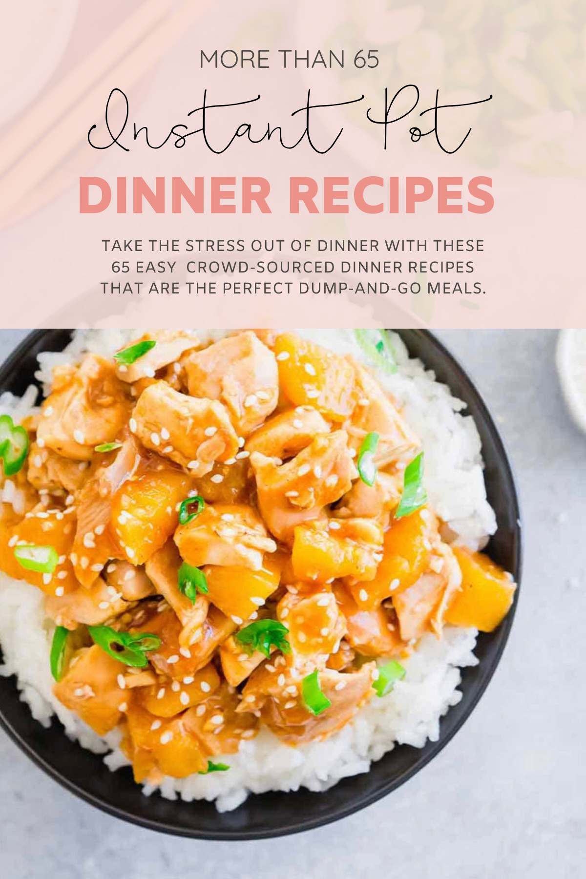 Instant Pot and Crockpot or Slow Cooker recipes are stress-free dinners at their finest; these 65 easy dinner recipes are the perfect dump-and-go meals. | @glitterinclexi | GLITTERINC.COM