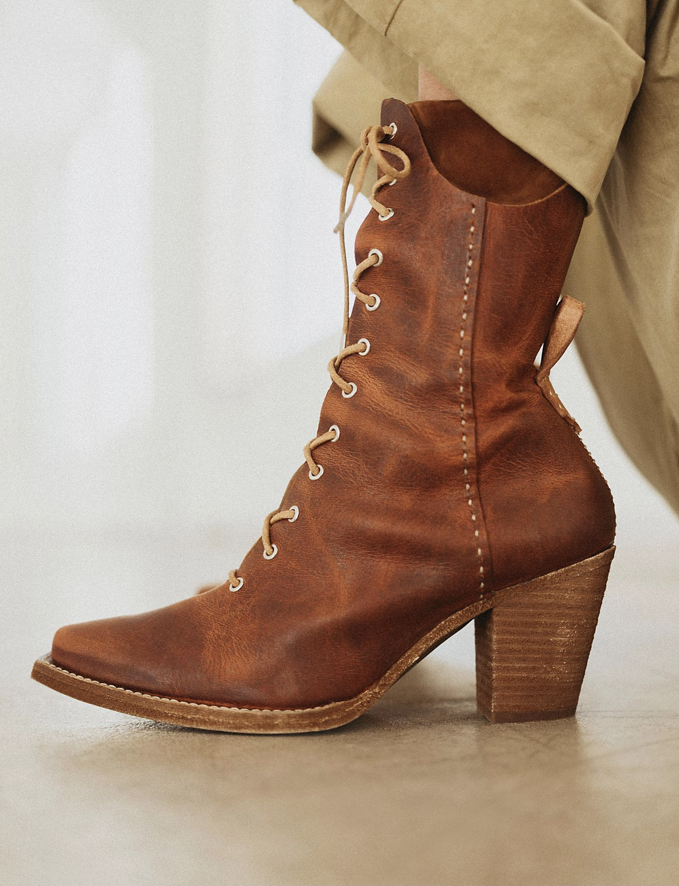 Free People We The Free Canyon Lace Up Boots