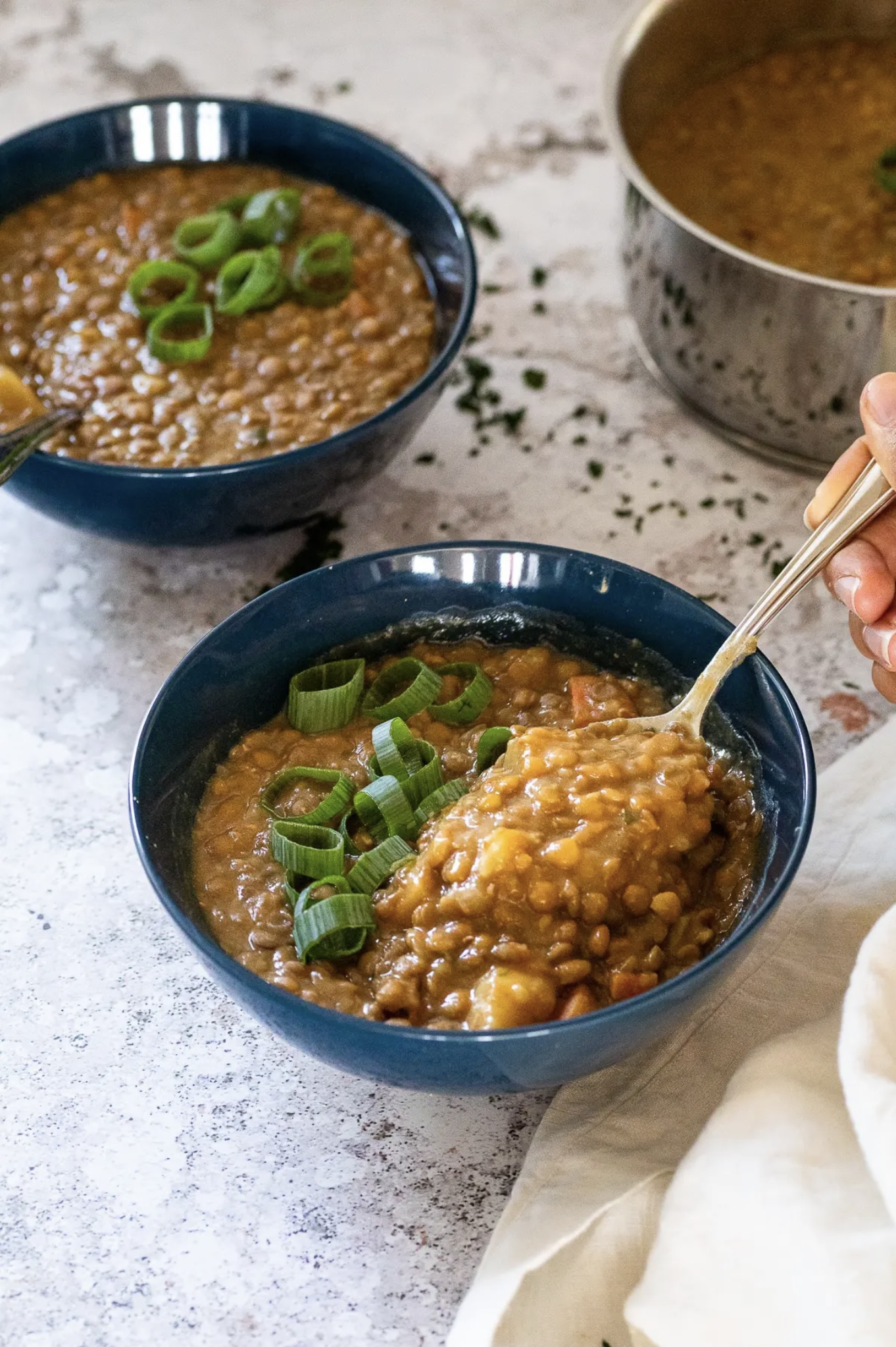 65 Easy Instant Pot + Crockpot Dinner Recipes | Homemade Instant Pot Lentil Soup