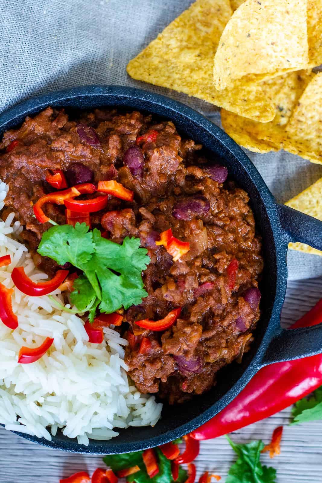 Slow Cooker Chilli con Carne
