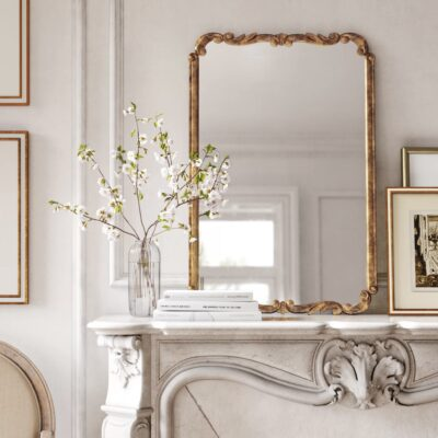 Decorative Mirrors for Every Budget // Accent Modern & Contemporary Accent Mirror by Kelly Clarkson Home // Anthropologie Mirror Dupe