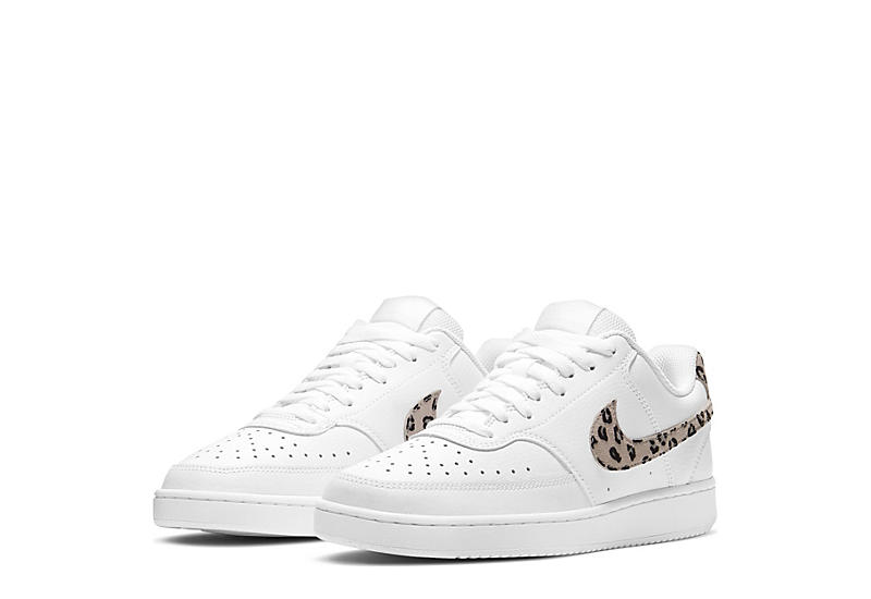 NIKE Court Vision Low Sneakers in Leopard Print