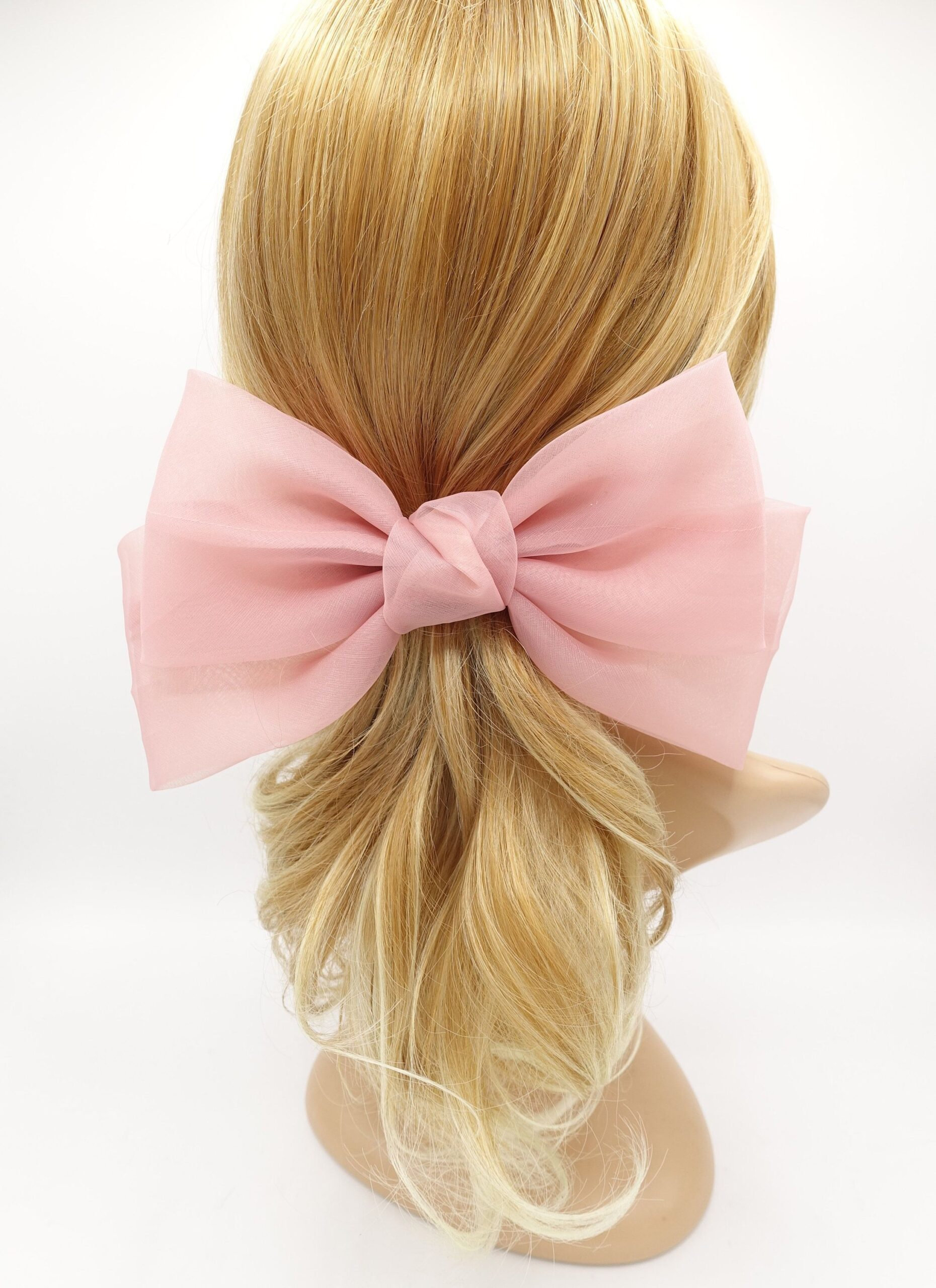 Weekly Finds + Vintage Florals   Etsy Very Shine Texas organza hair bow big stylish bow hair accessories for women