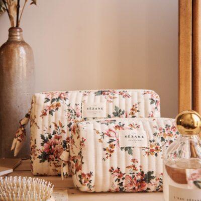 Weekly Finds + Vintage Florals | Sézane Toiletry Bags in Vintage Floral