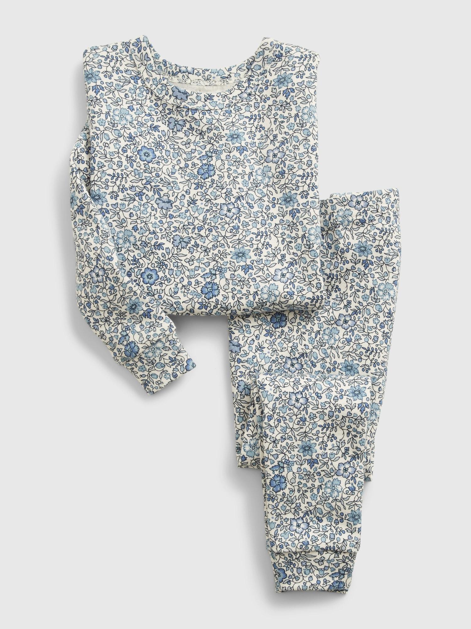 babyGap Organic Floral PJ Set