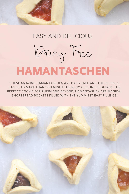 Easy and Delicious Dairy Free Hamantaschen | Our Favorite Recipe for Homemade Allergy-friendly Hamantashen | @glitterinclexi | GLITTERINC.COM