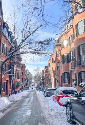 Boston Winter Snow - Beacon Hill // Little Love Notes + Weekend Things