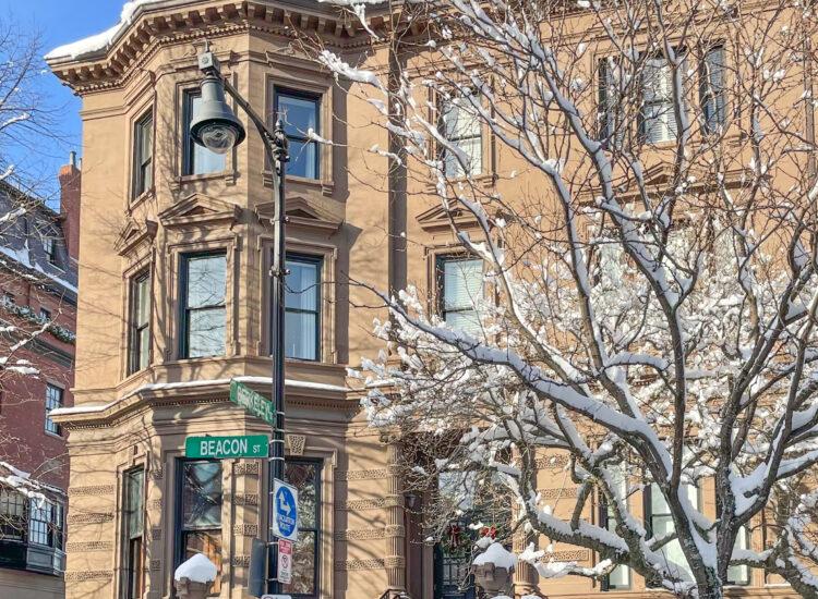 Boston Winter Snow - Beacon Hill // Little Love Notes