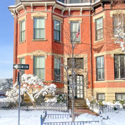 Boston Winter Snow - Back Bay // Little Love Notes