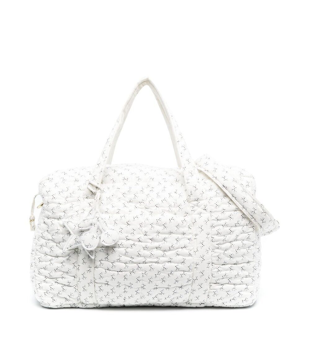 Bonpoint Padded Floral-Print Changing Bag