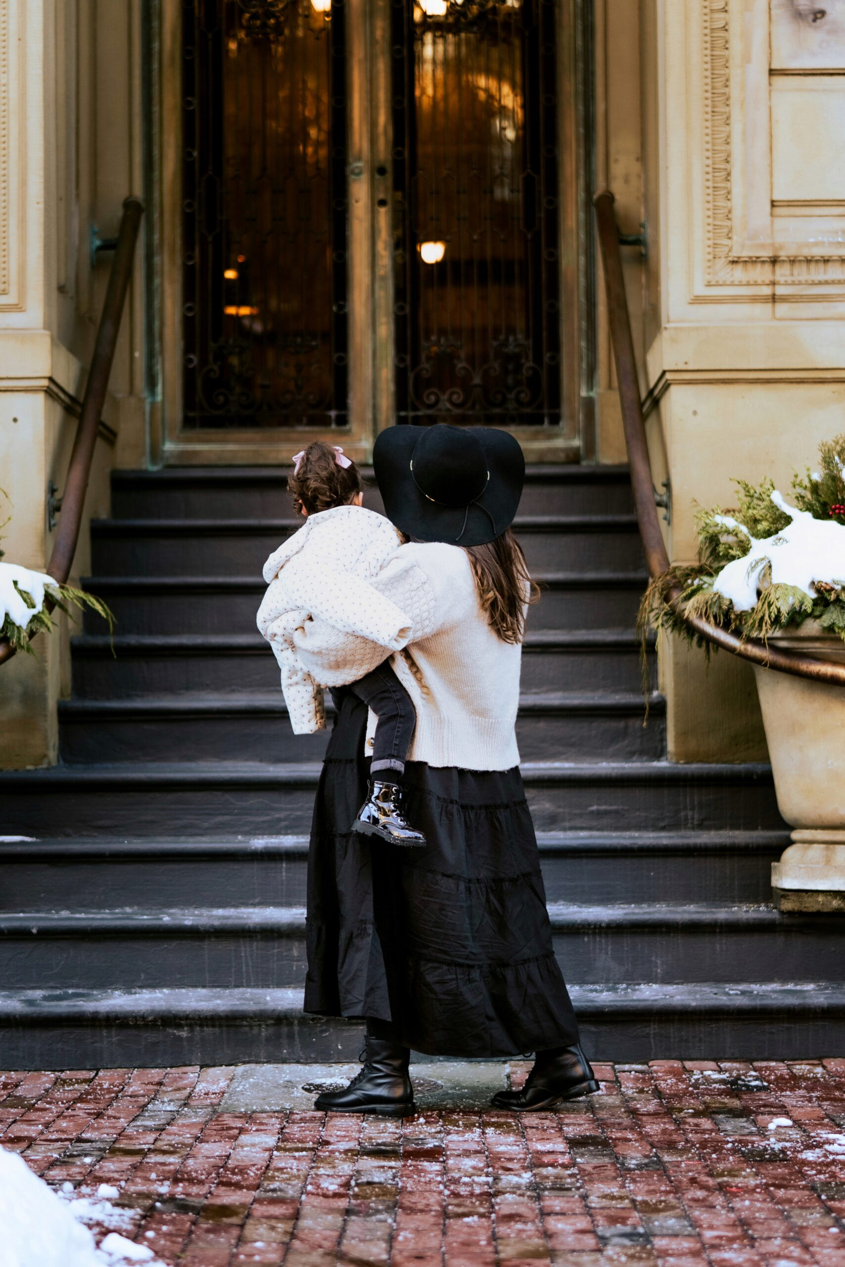 Little Love Notes + Back Bay Brownstone Dreaming - Mom and Daughter - GLITTERINC.COM