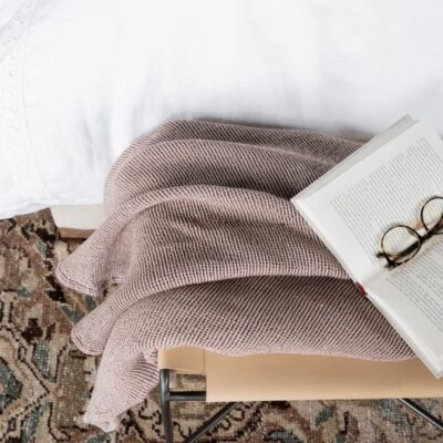 McGee and Co. Whitby Woven Throw | Little Love Notes + What Im Reading This Weekend