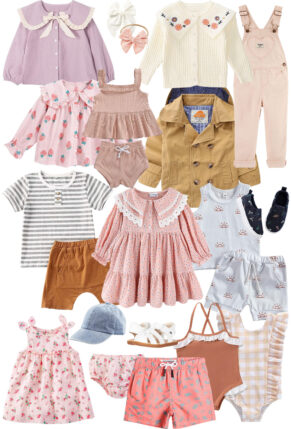Give your kids a spring wardrobe refresh with the cutest boutique-worthy finds for babies, toddlers, and young kids - all from Amazon. | @glitterinclexi | GLITTERINC.COM