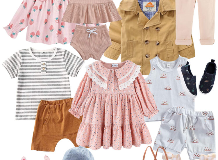 Give your kids a spring wardrobe refresh with the cutest boutique-worthy finds for babies, toddlers, and young kids - all from Amazon.   @glitterinclexi   GLITTERINC.COM