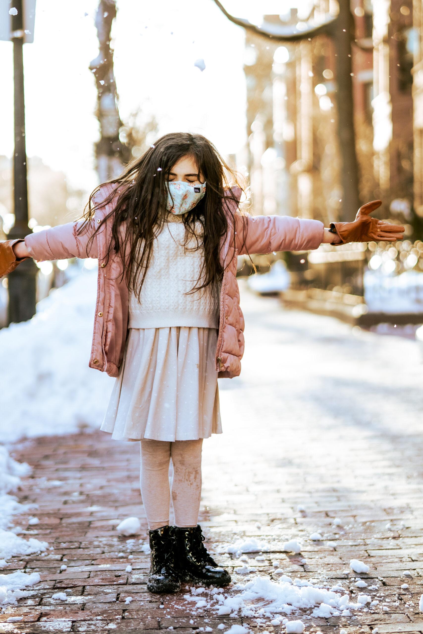 Winter Family Photos in Back Bay | Boston Snow | @glitterinclexi | GLITTERINC.COM