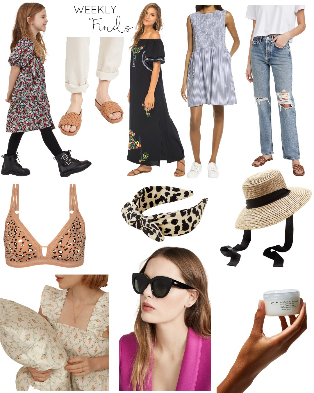 Here are the weekly finds that I'm loving this week (including a few must-have spring accessories) …