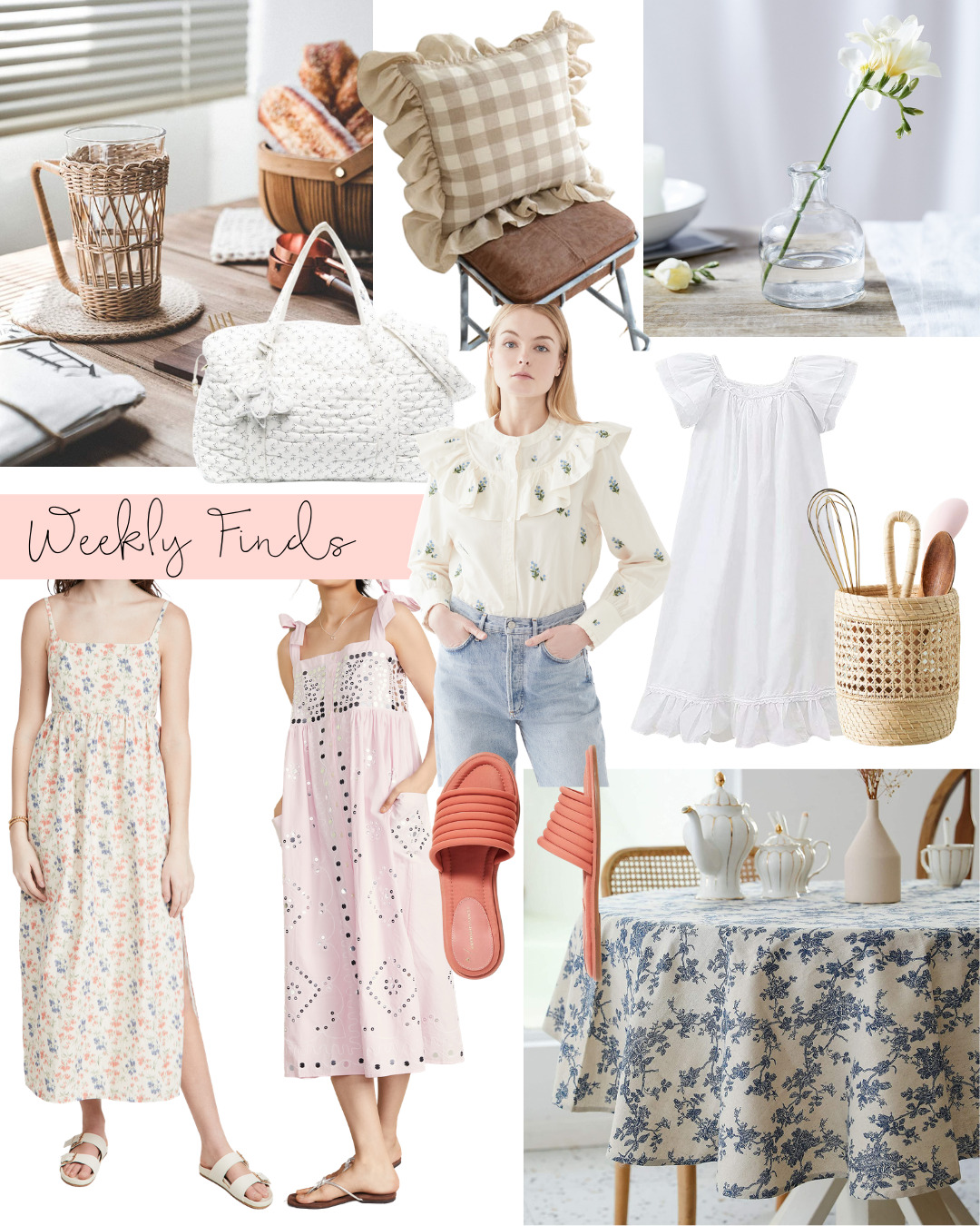 Weekly Finds + A Few Recent Spring Home Picks