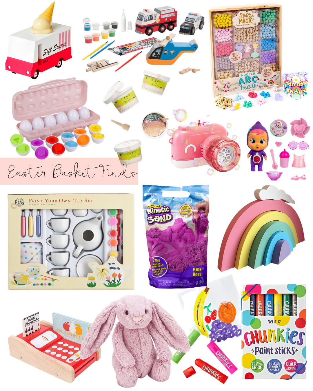75+ Easter Basket Toys and Activities for $15 or Less | @glitterinclexi | GLITTERINC.COM