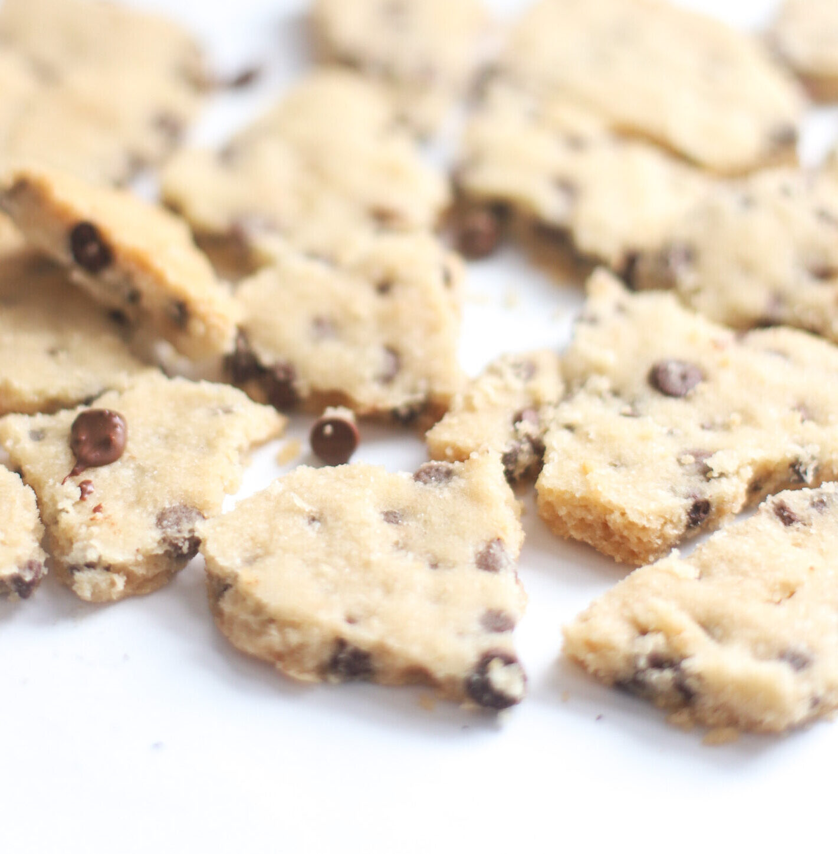 guilt-free cookie brittles