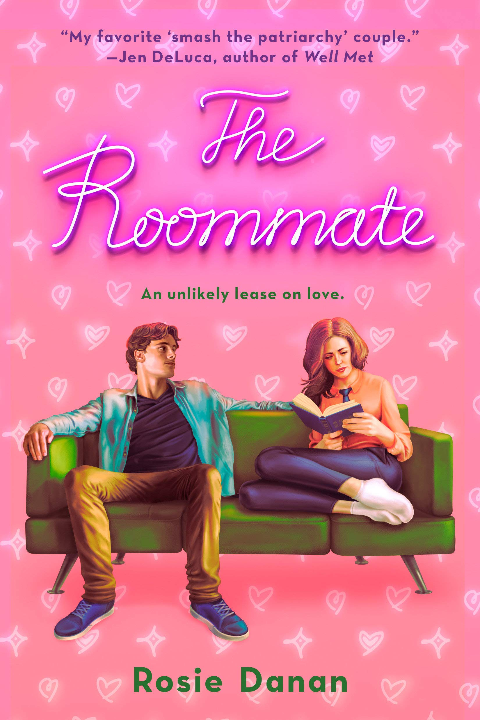 cover of The Roommate by Rosie Danan