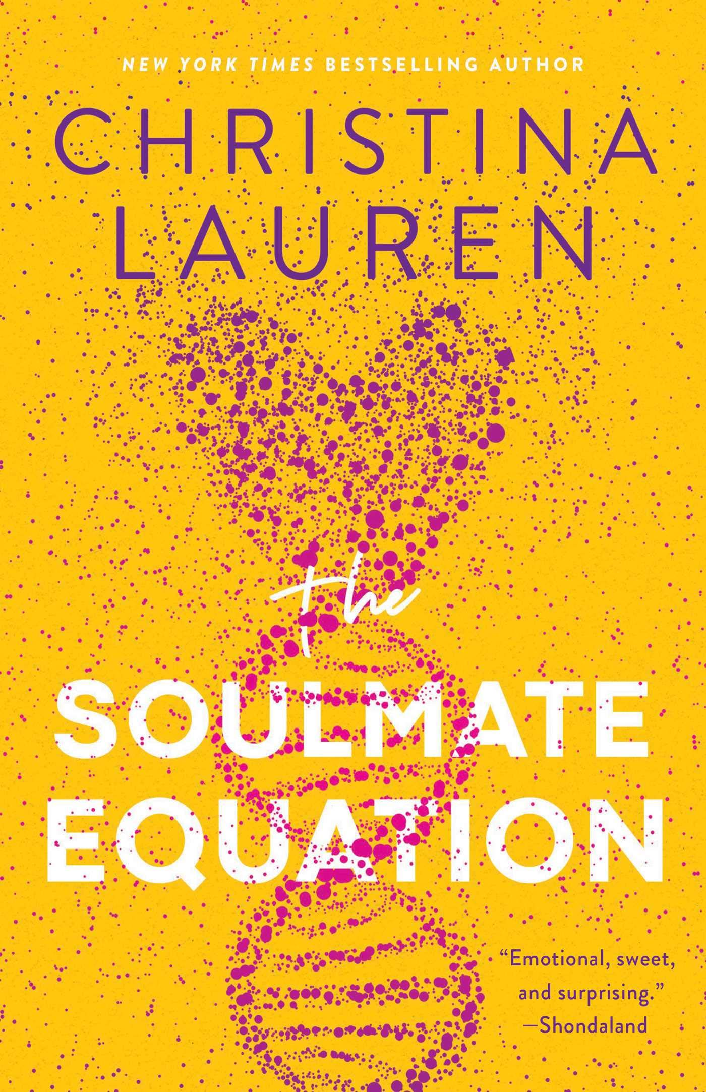 The Soulmate Equation by Christina Lauren book cover