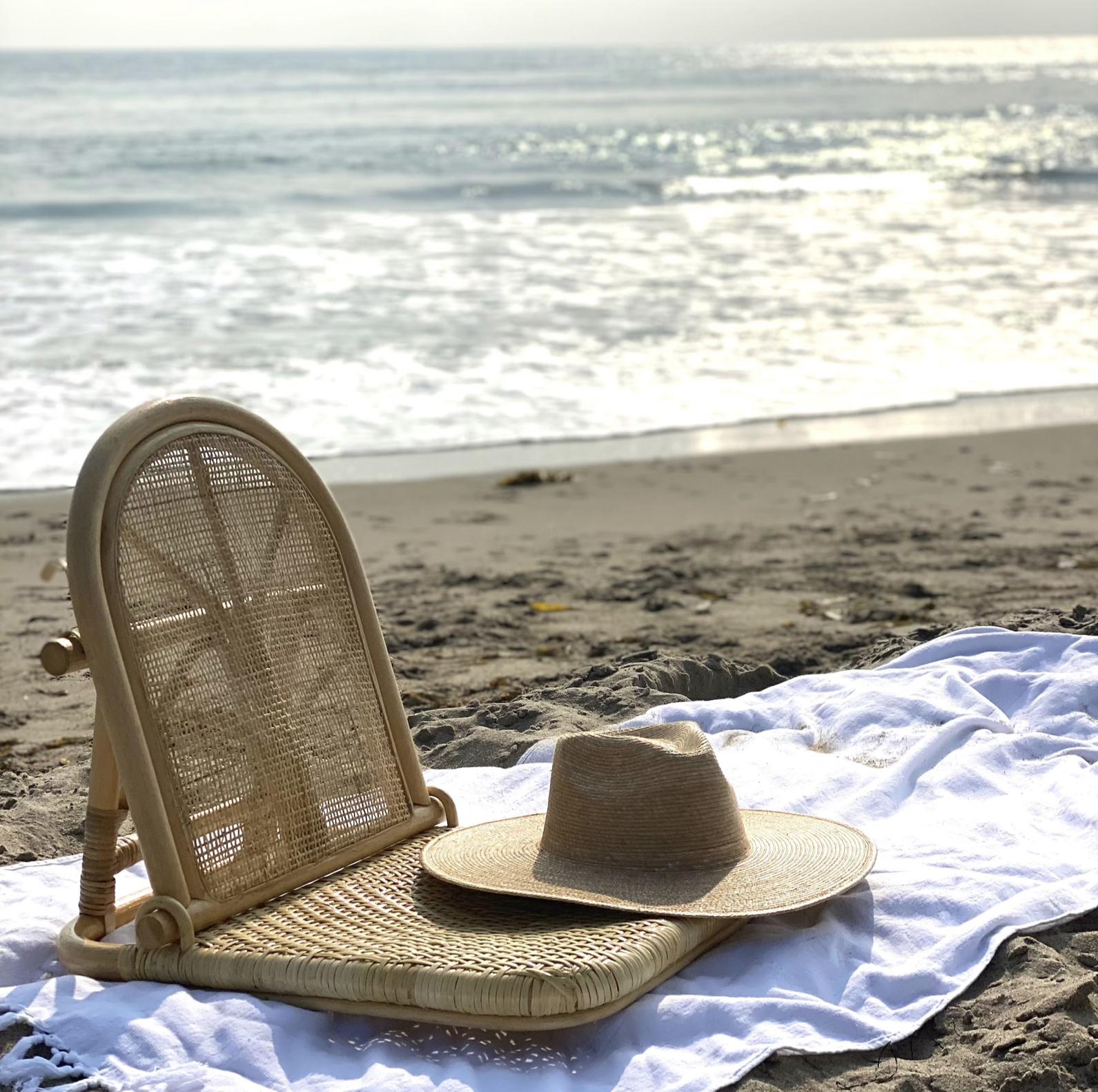 Indah Lounger Rattan Beach Chair