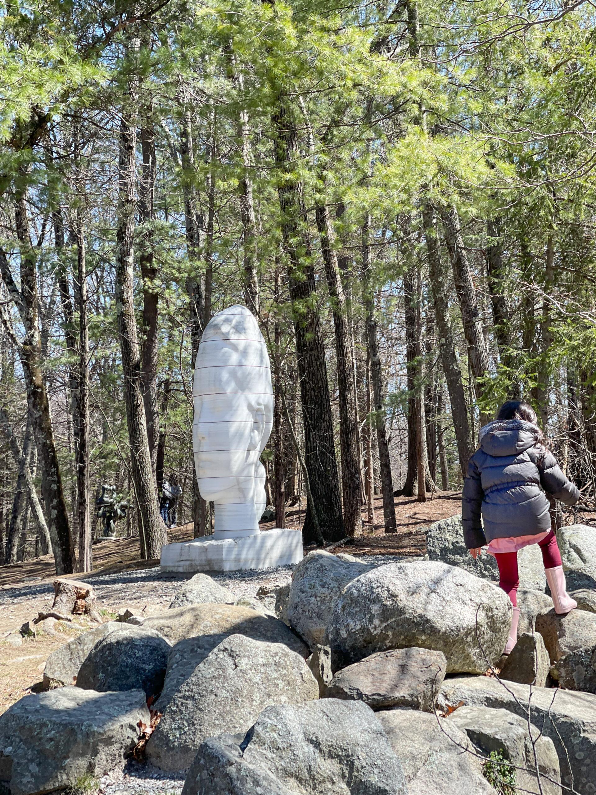 Exploring Boston - deCordova Sculpture Park in Lincoln Massachusetts - Visiting with Young Kids | @glitterinclexi | GLITTERINC.COM