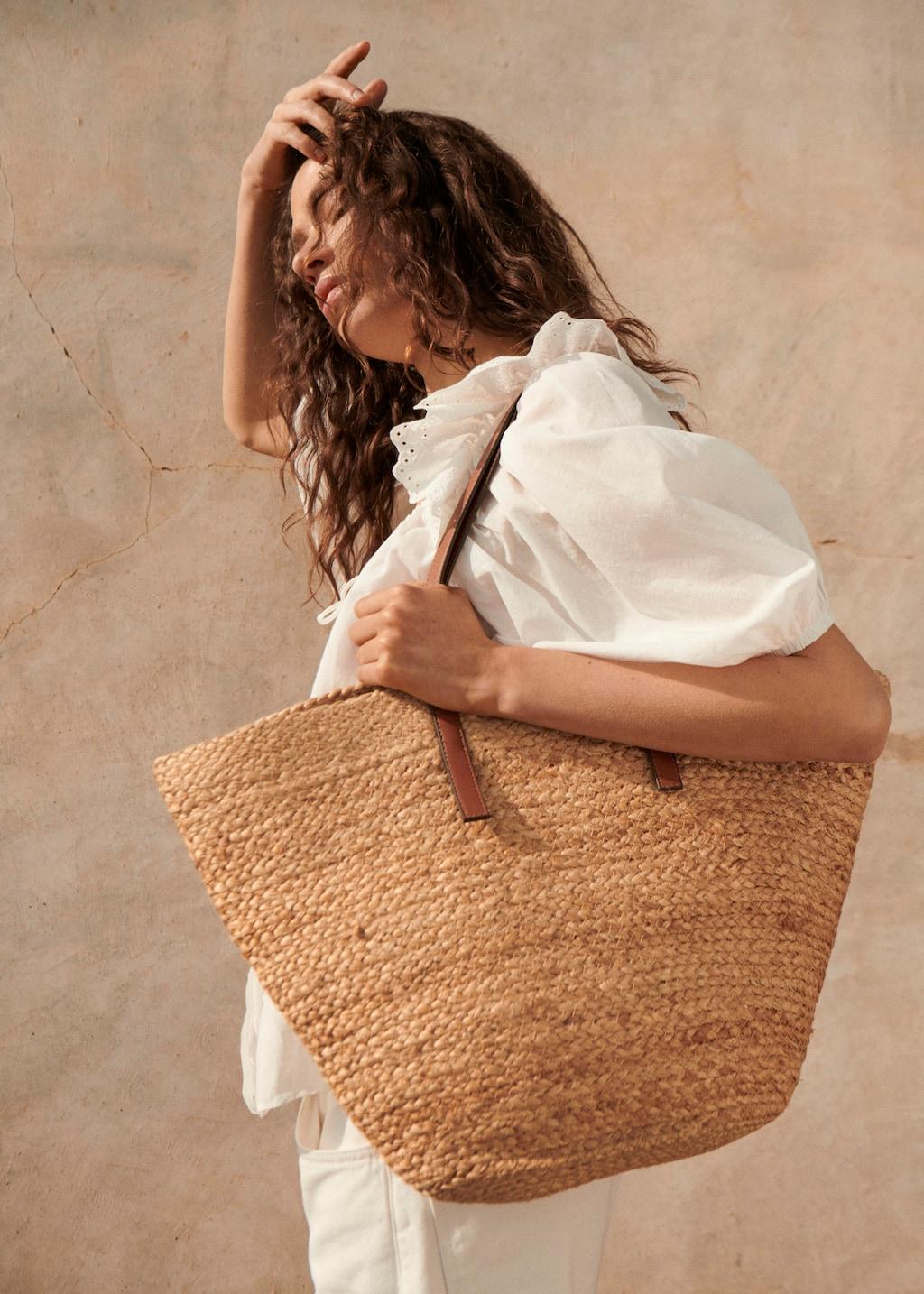Mango Jute Basket Bag