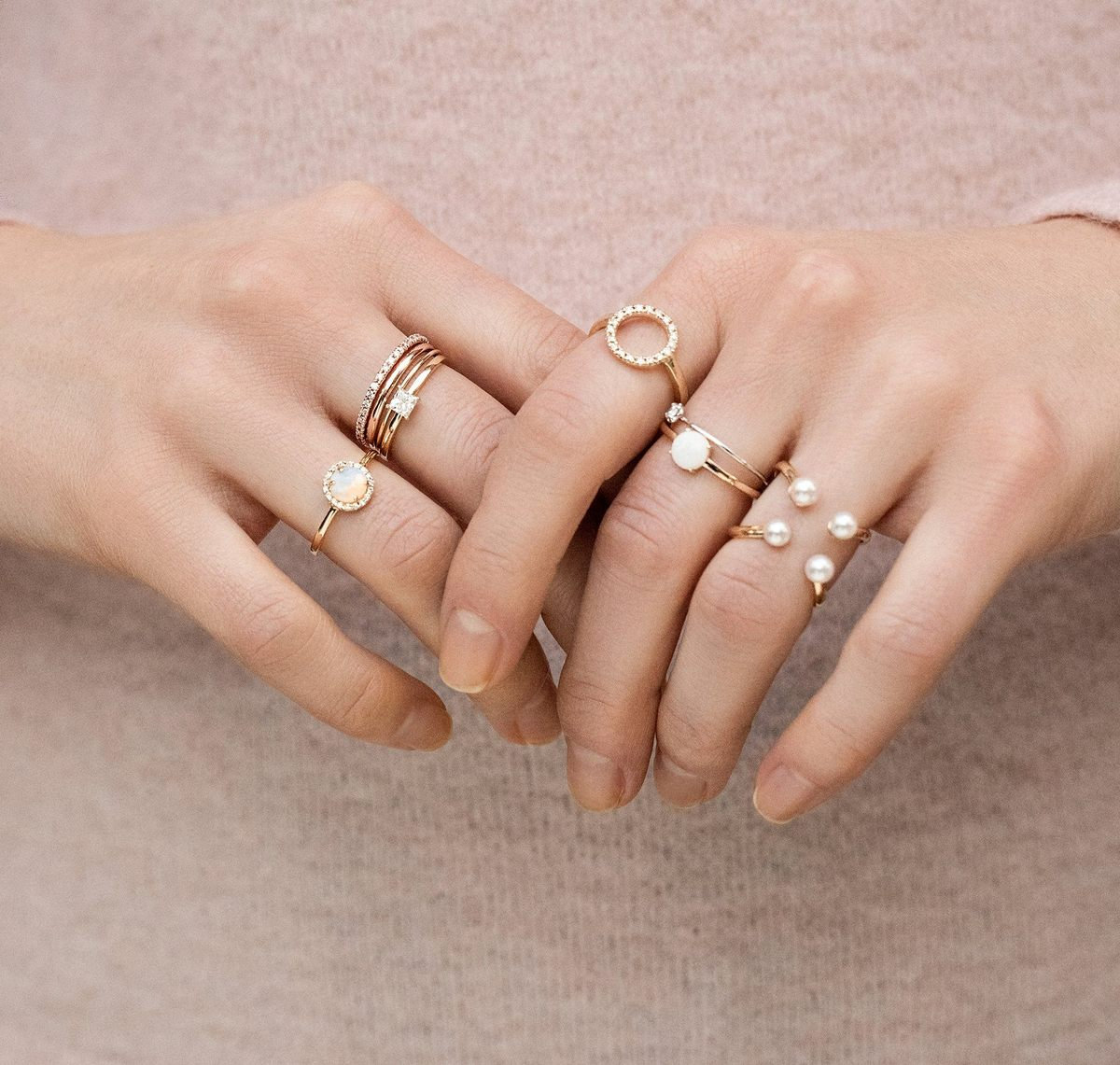 Weekly Finds + My New Favorite Gold Stacking Statement Rings | @glitterinclexi | GLITTERINC.COM