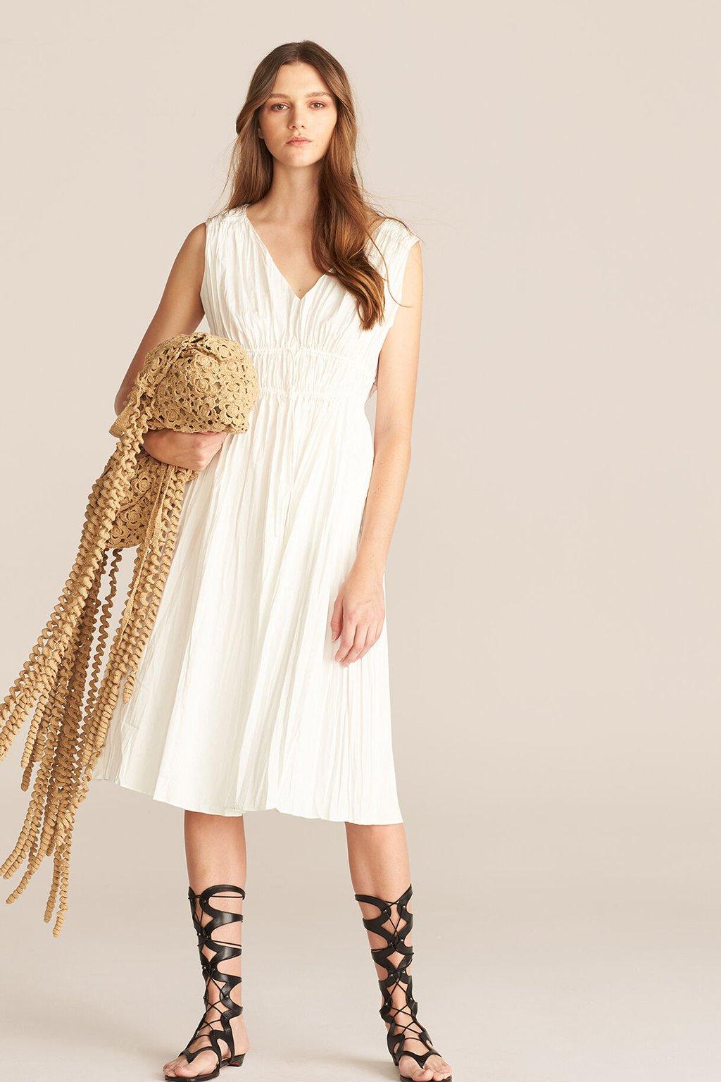 Rebecca Taylor Sleeveless Broomstick Dress