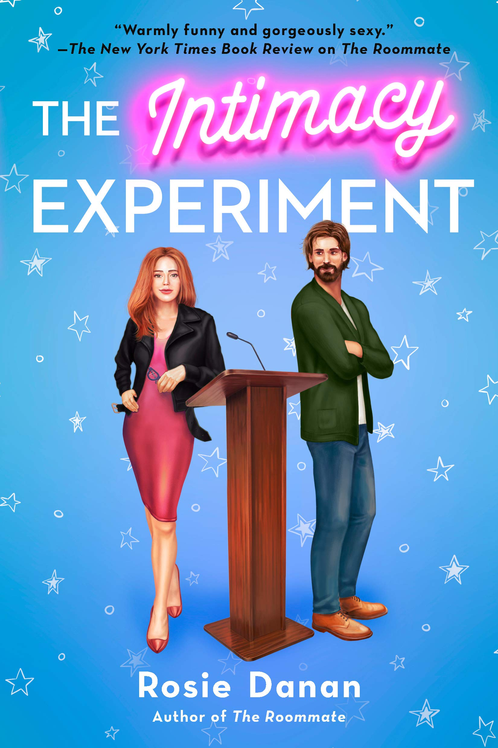The Intimacy Experiment by Rosie Danan cover for your Vacation Books